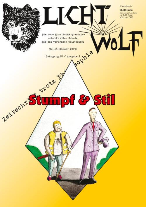Lichtwolf Nr. 66 (Stumpf und Stil)