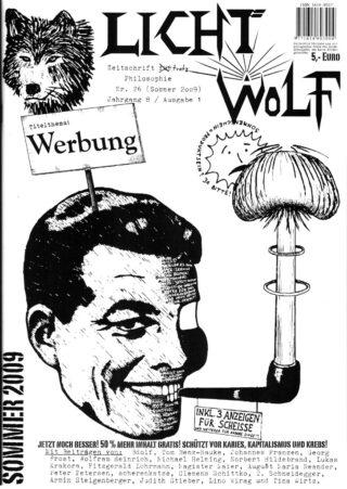 """Lichtwolf Nr. 26 (""""Werbung"""")"""