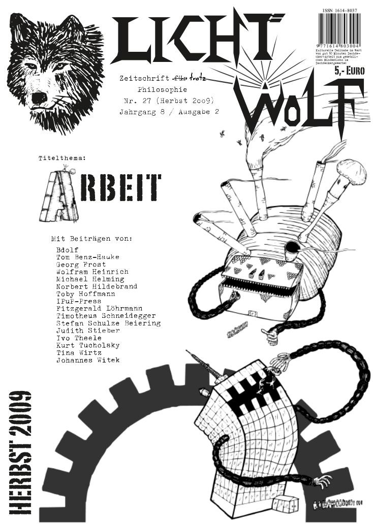 """Lichtwolf Nr. 27 (""""Arbeit"""")"""