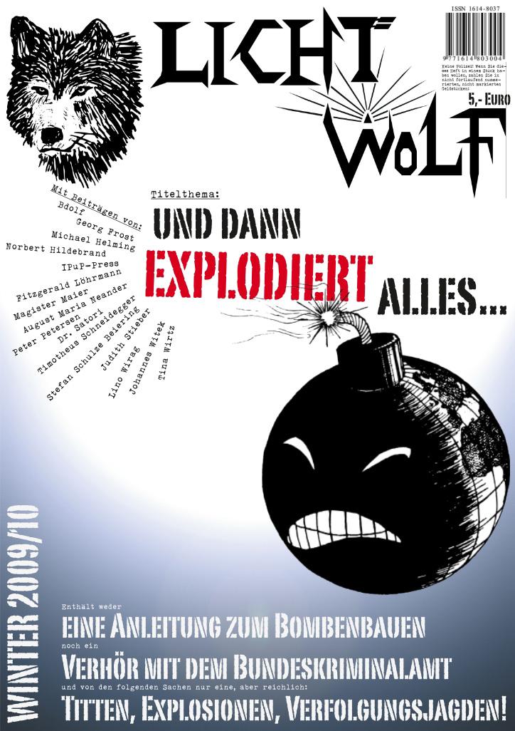 """Lichtwolf Nr. 28 (""""Und dann explodiert alles"""")"""