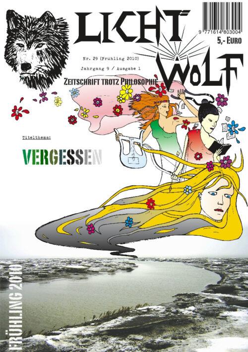 """Lichtwolf Nr. 29 (""""Vergessen"""")"""
