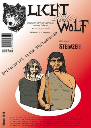"""Lichtwolf Nr. 31 (""""Steinzeit"""")"""