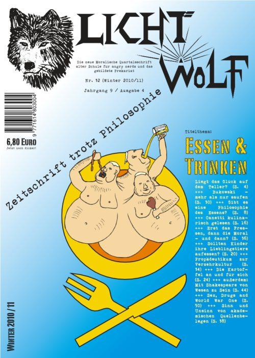 """Lichtwolf Nr. 32 (""""Essen und Trinken"""")"""