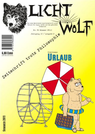 """Lichtwolf Nr. 34 (""""Urlaub"""")"""