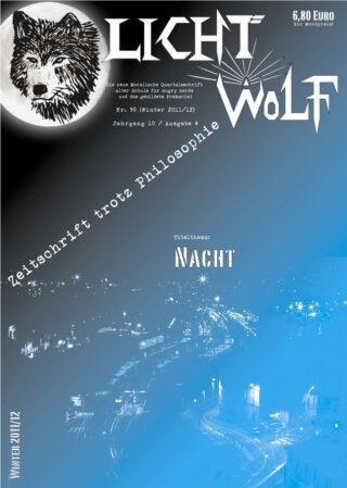 """Lichtwolf Nr. 36 (""""Nacht"""")"""