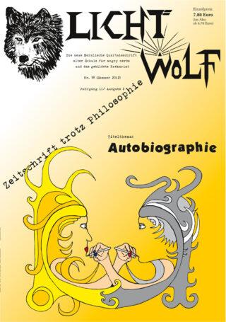 """Lichtwolf Nr. 38 (""""Autobiographie"""")"""
