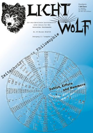 """Lichtwolf Nr. 40 (""""Zahlen, Ziffern und Nummern"""")"""
