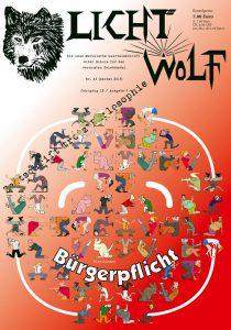 """Lichtwolf Nr. 43 (""""Bürgerpflicht"""") (E-Book)"""