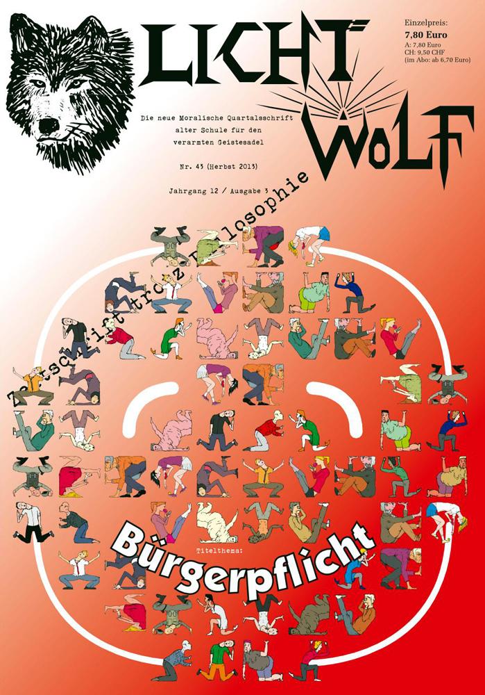 """Lichtwolf Nr. 43 (""""Bürgerpflicht"""")"""