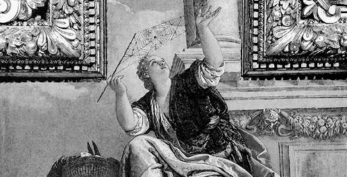 """Bild: Paolo Veronese, """"Aracne o la Dialettica"""" (1520), Quelle: Wikipedia"""