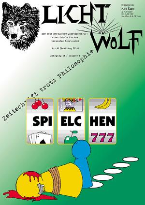 Lichtwolf Nr. 45 (Spielchen)