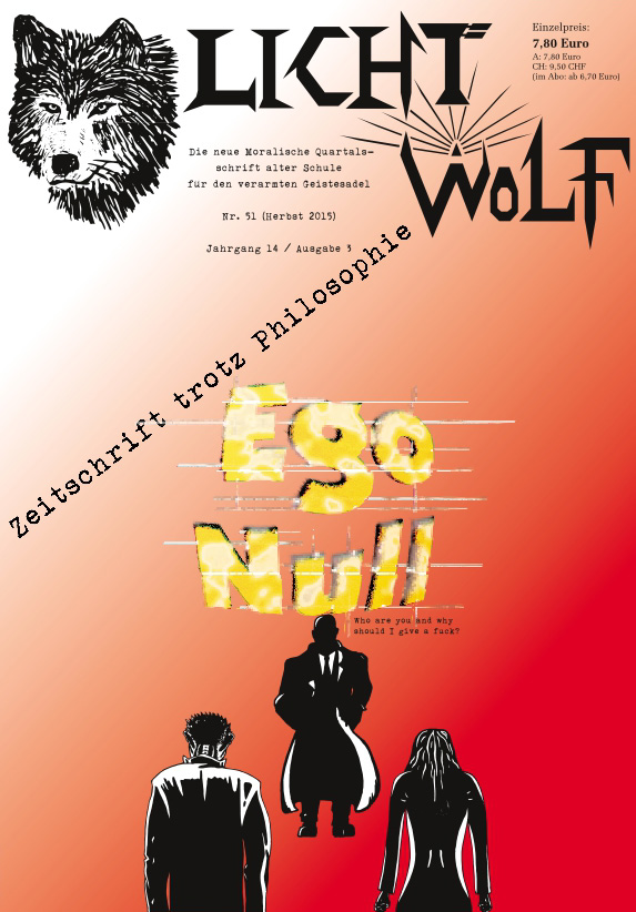 "Lichtwolf Nr. 51 (""Ego Null"")"