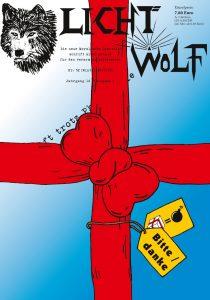 "Lichtwolf Nr. 52 (""Bitte / danke"")"