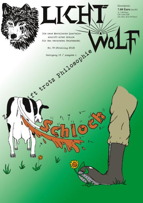 """Lichtwolf Nr. 53 (""""Schloch"""")"""