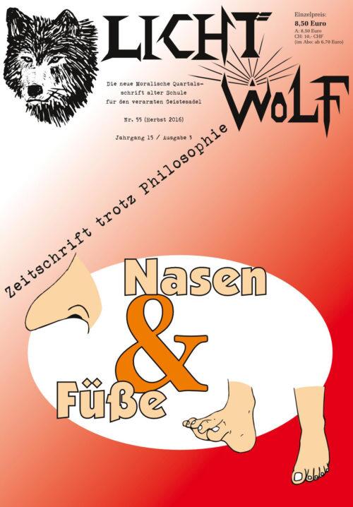 """Lichtwolf Nr. 55 (""""Nasen & Füße"""")"""