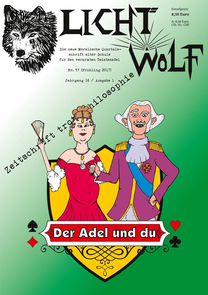 """Lichtwolf Nr. 57 (""""Der Adel und du"""")"""