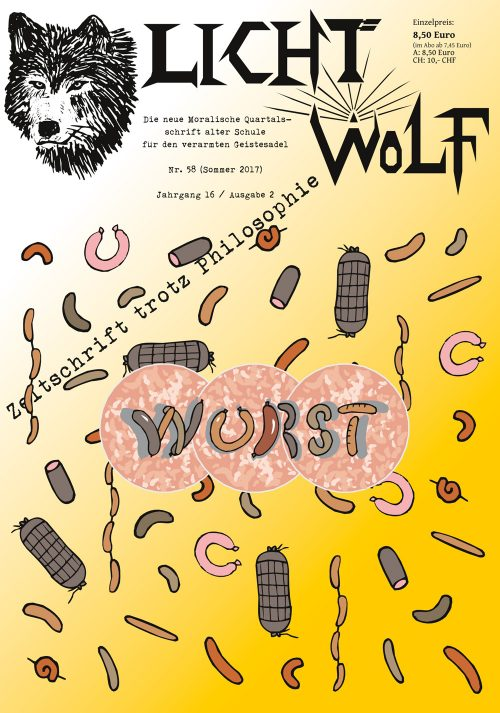 """Lichtwolf Nr. 58 (""""Wurst"""")"""