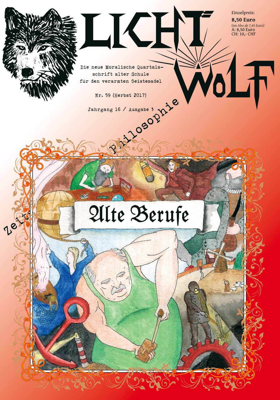 """Lichtwolf Nr. 59 (""""Alte Berufe"""")"""