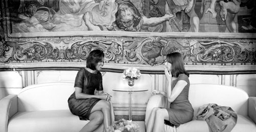 Michelle Obama und Carla Bruni