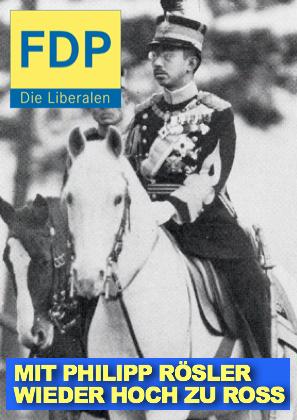 Rösler neuer FDP-Chef