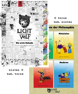 Lichtwolf-Poster